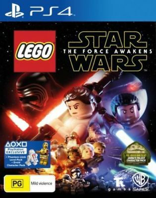 Lego Star Wars The Force Awakens PS4 Playstation 4 Brand New In Stock Brisbane