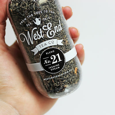 NEW Blend No. 21 Organic Jasmine Dream Green Tea by West End Tea Co