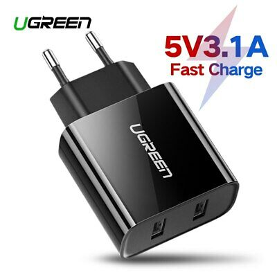 UGREEN USB Charger 5V3.4A Universal USB Wall Charger Adapter for iPhone Samsung