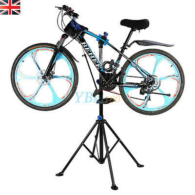 Useful Folding Bicycle Maintenance Repair Tool Stand Pedal Bike Cycle Workstands