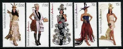 NORFOLK INSEL 2014 Moderne Mode Modern Costumes Kleidung Clothes ** MNH