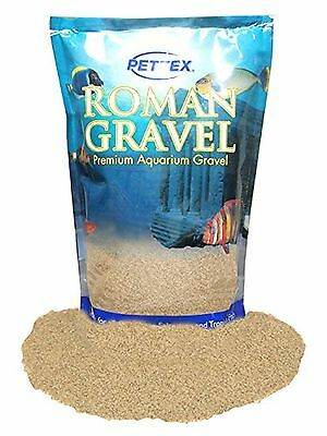 Premium Pettex Roman Gravel Aquatic Speckled Sand Aquarium Fish Tank Bowl Decor