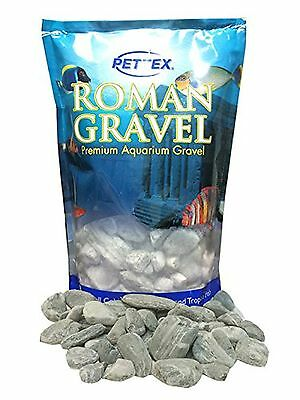 Premium Pettex Roman Gravel Aquatic Natural Slate Effect Aquarium Fish Tank Bowl