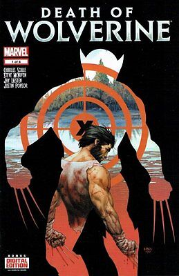 DEATH OF WOLVERINE - COMPLETE SET ISSUE 1 2 3 4 - SOLD OUT FIRST 1st PRINT