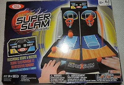 Ideal ELECTRONIC SUPER SLAM BASKETBALL Tabletop Game NEW-IN-BOX SEALED PARTS