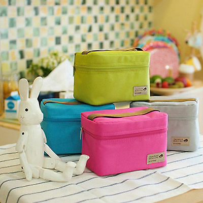 Insulated Carry Cooler Ice Boxes Travel Lunch Box Collapsible Picnic Brunch Bag