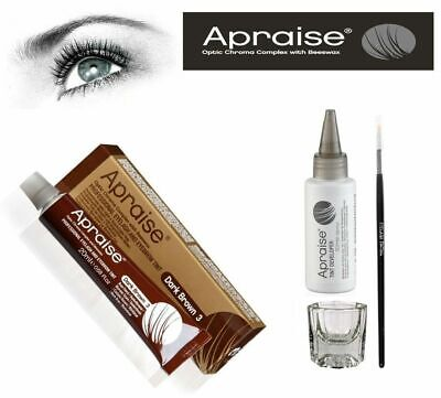Apraise Eyelash & Eyebrow Tint Dye Starter Kit All Colours Sold