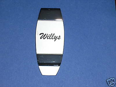 WILLYS   -  money clip BOXED