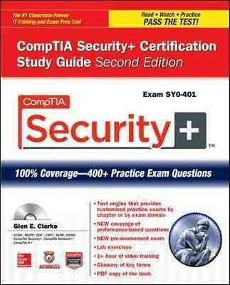 CompTIA Security+ Certification Study Guide (Exam SY0-401) by Glen E. Clarke Pap