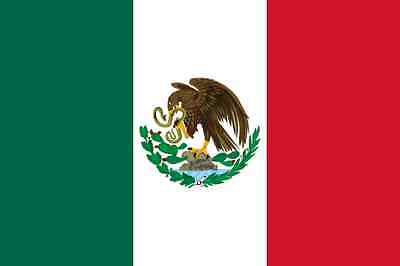 3' x 5' ft Mexico Polyester Flag
