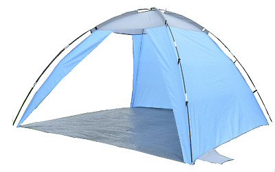 BEACH FESTIVAL TENT SUN SHELTER VERY LARGE 2m x 2m CAMPING FISHING WINDBREAK