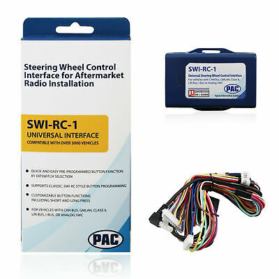 Pac Swi-Rc Swi-Jack Swi-Ps Steering Wheel Control Retention Interface Adapter