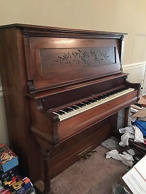 Lovely and Unique --Reid Peerless Upright Registered Pump Organ..