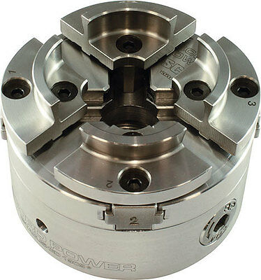 SC-4 Scroll Chuck - 100mm - with Bonus 50mm Face Plate Ring