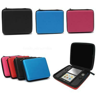 EVA Protective Storage Case Cover Carry Handle For Nintendo 2DS Console LO1G