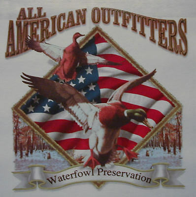 ALL AMERICAN OUTFITTERS DUCK HUNTER HUNTING #484 POCKET SHIRT