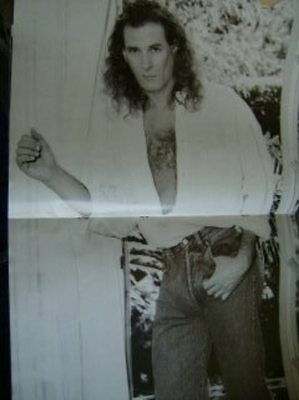 Michael Bolton Oversized Tour Book 1991-1992
