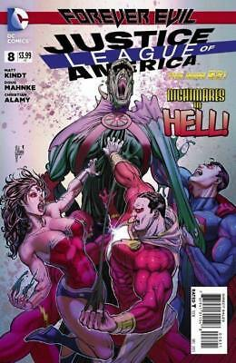 Justice League of America #8 (Vol 3) 1:25 Variant Cover by Guillem March New 52