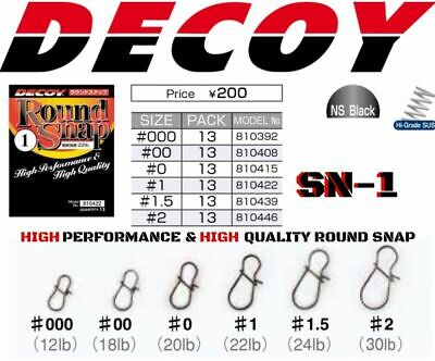 Decoy High Performance & High Quality Round Snap.