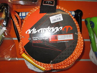 2016 Accurate 1-2 Man Tube Tow Rope Orange