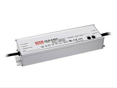 Mean Well HLG-240H-48A AC/DC Power Supply 48V 5A 240W IP65