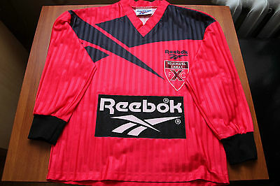 Neuchatel Xamax Switzerland 1993/1994 Football Shirt Jersey Reebok Long Sleeves