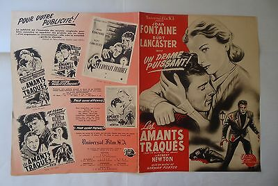 JOAN FONTAINE/KISS THE BLOOD OF MY HANDS///  /french pressbook