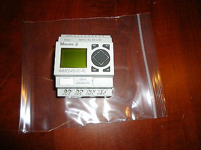 Moeller Control Relay Easy 412-Dc-Rc Cat #easy412-Dc-Rc, Used #a9