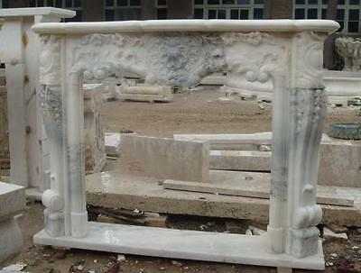 Beautiful French Design Marble Fireplace Mantel #3971