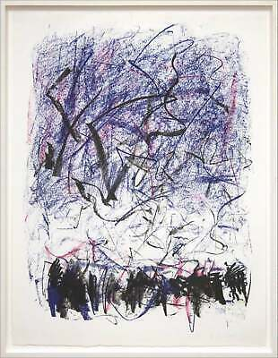 JOAN MITCHELL 'Bedford III' 1981 SIGNED Lithograph Limited Edition Print Framed