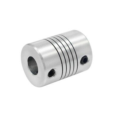 Aluminum Flexible Shaft Coupler 5/6.35/8mm To 5/6.35/8/10mm CNC Reprap 3Dprinter