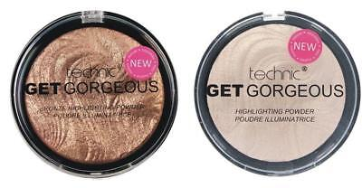 Technic Get Gorgeous Highlighting & Bronzing Powder - Choose Your Shade