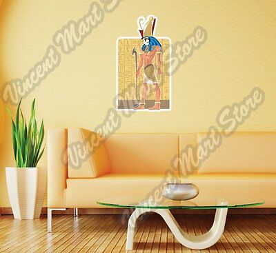 "Gor God Egyptian Mythology Egypt Gift Wall Sticker Room Interior Decor 18""X25"""