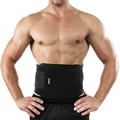 Bracoo Waist Trimmer Belt Exercise Adjustable Body Slimming Weight Loss Stomach