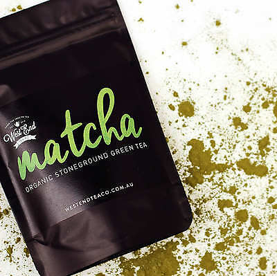 NEW Organic Matcha Stone Ground Green Tea by West End Tea Co