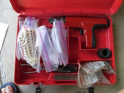 hilti DX-35 powder actuated nail gun semi-auto kit USED &  COMBO   (600)