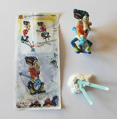 Kinder Looney Tunes Active Winter Sports De094 Willy Coyote Con Cartina