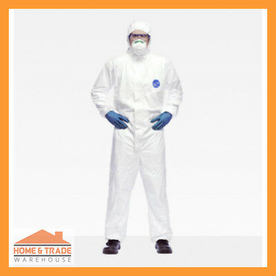 Tyvek Coverall Classic Xpert White Personal Protection Chemicals Asbestos