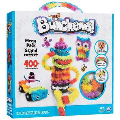 Brand New Bunchems Megapack Kit 3D creations 400+ Pieces