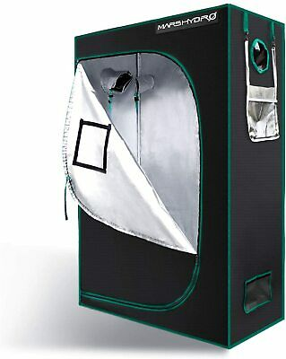 Mars 4 x 2 x 6 Indoor Grow Tent Hydroponics Plants Growing Non Toxic Room Box