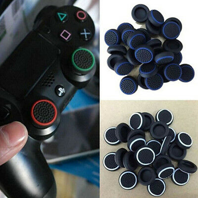 4xAnalog Controller Console Thumb Stick Grips Cap Cover Skin for Playstation PS4