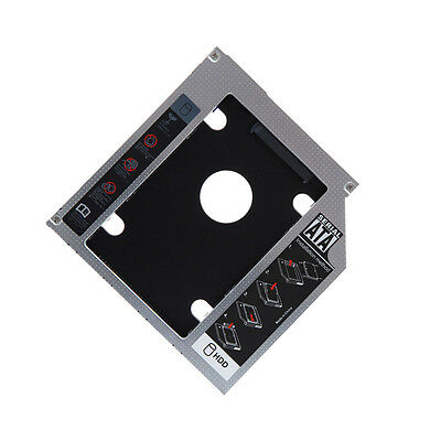 SATA 2nd HDD SSD Hard Drive Caddy for 12.7mm CD/DVD-ROM Optical Bay Laptop PAT A