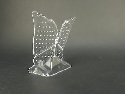 CLEAR Display Holder Stand Jewelry Showcase Rack Earring Butterfly Retail Shop