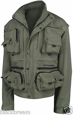 Ron Thompson Ontario Jacket Fly Fishing Coat Trout Salmon Pike Coarse Walking