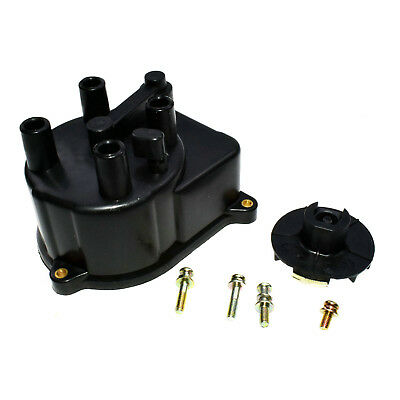 For Honda Civic 92-00 Distributor Cap and Distributor Rotor Ignition Kit Set (2)
