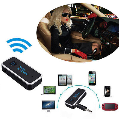 Auto Bluetooth  4.1 Wireless AUX Empfänger Adapter Dongle Musik Audio Stereo KFZ