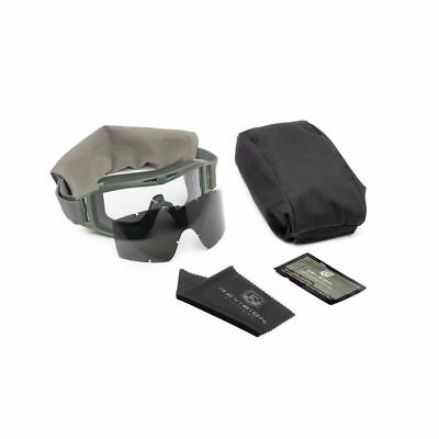New Us Military Issue Revision Desert Locust Goggle Kit. Foliage Green Paintball