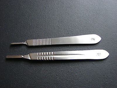 Scalpel Scalple Handle No.3 & 4 Surgical,Sign,Craft,Card Making Cutter,Podiatry,