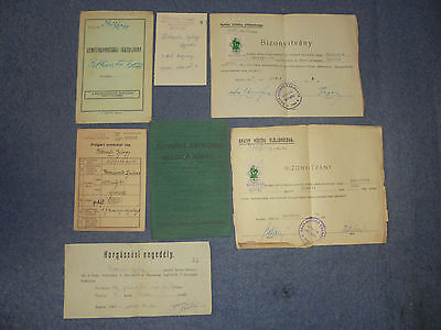 Lot Documents And Permits Ww2