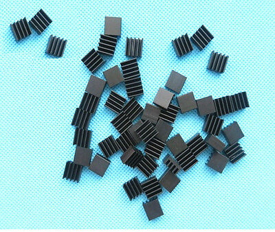 20PCS NEW Heat sink 8.8x8.8x5mm High quality MINI HeatSink Color Black